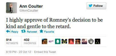 To @AnnCoulter : This is Who you Insult